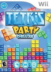 Portada oficial de Tetris Party para Wii