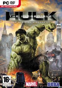 Portada oficial de The Incredible Hulk para PC