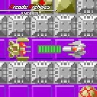Portada oficial de Arcade Archives Raiders5 para Switch