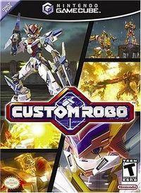 Portada oficial de Custom Robo para GameCube