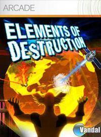 Portada oficial de Elements of Destruction para Xbox 360