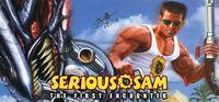 Portada oficial de Serious Sam para PC
