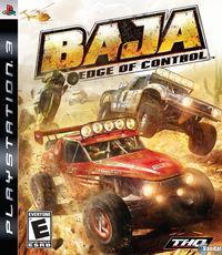 Portada oficial de Baja: Edge of Control para PS3