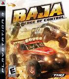 Portada oficial de de Baja: Edge of Control para PS3