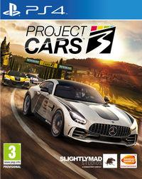 Portada oficial de Project CARS 3 para PS4