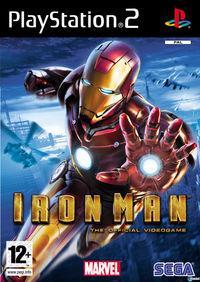 Portada oficial de Iron Man para PS2
