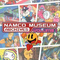 Portada oficial de Namco Museum Archives Vol. 1 para PS4