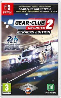 Portada oficial de Gear.Club Unlimited 2 - Tracks Edition para Switch