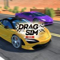 Portada oficial de Drag Sim 2020 para Switch
