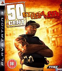 Portada oficial de 50 Cent: Blood on the Sand para PS3