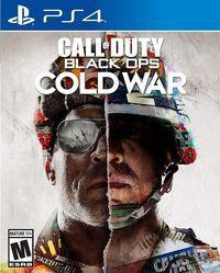 Portada oficial de Call of Duty: Black Ops Cold War para PS4