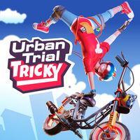 Portada oficial de Urban Trial Tricky para Switch