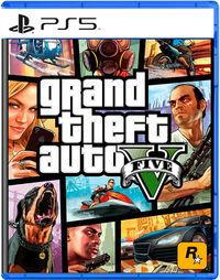 Portada oficial de Grand Theft Auto V para PS5