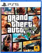 Portada oficial de de Grand Theft Auto V para PS5