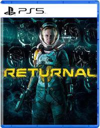 Portada oficial de Returnal para PS5