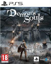 Portada oficial de Demon's Souls Remake para PS5