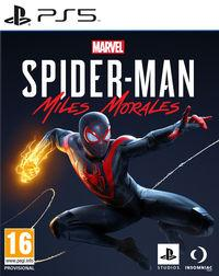 Portada oficial de Spider-Man: Miles Morales para PS5