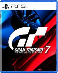 Portada oficial de Gran Turismo 7 para PS5