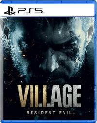 Portada oficial de Resident Evil 8: Village para PS5