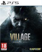 Portada oficial de de Resident Evil 8: Village para PS5