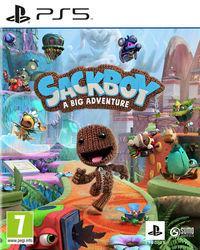Portada oficial de Sackboy - A Big Adventure para PS5