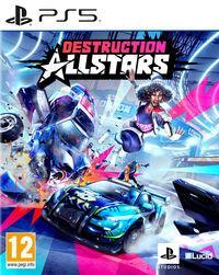 Portada oficial de Destruction AllStars para PS5