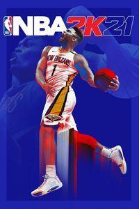 Portada oficial de NBA 2K21 para Xbox Series X/S