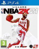 Portada oficial de de NBA 2K21 para PS4
