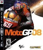 Portada oficial de de Moto GP 08 para PS3