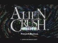 Portada oficial de Alien Crush Returns WiiW para Wii