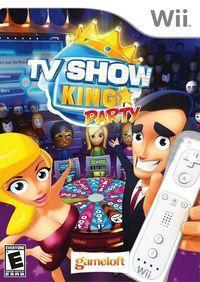 Portada oficial de TV Show King para Wii