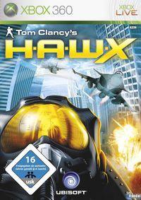 Portada oficial de Tom Clancy's HAWX para Xbox 360