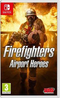 Portada oficial de Firefighters - Airport Heroes para Switch