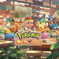 Portada oficial de Pokémon Café Mix para Switch