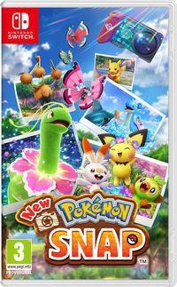 Portada oficial de New Pokémon Snap para Switch