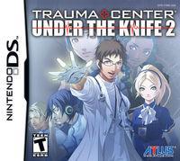 Portada oficial de Trauma Center: Under the Knife 2 para NDS