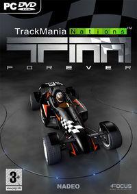 Portada oficial de Trackmania Nations Forever para PC