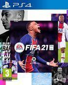 Portada oficial de de FIFA 21 para PS4
