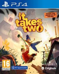 Portada oficial de It Takes Two para PS4