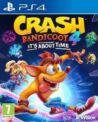 Portada oficial de Crash Bandicoot 4: It's About Time para PS4