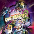 Portada oficial de de Nickelodeon Kart Racers 2: Grand Prix para PS4
