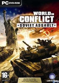 Portada oficial de World in Conflict: Soviet Assault para PC