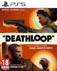 Portada oficial de Deathloop para PS5