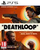 Portada oficial de de Deathloop para PS5