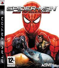 Portada oficial de Spider-Man: Web of Shadows para PS3