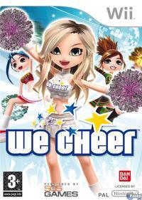Portada oficial de We Cheer para Wii