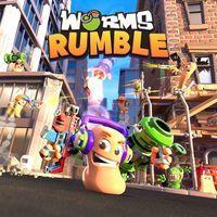 Portada oficial de Worms Rumble para PS4