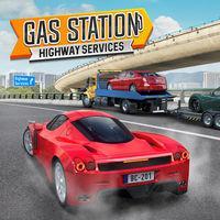 Portada oficial de Gas Station: Highway Services para Switch