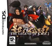 Portada oficial de The Legend of Kage 2 para NDS