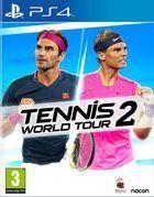 Portada oficial de de Tennis World Tour 2 para PS4
